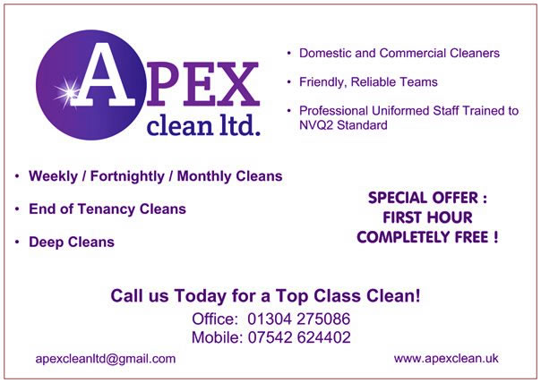 Apex cleaning services Deal Kent