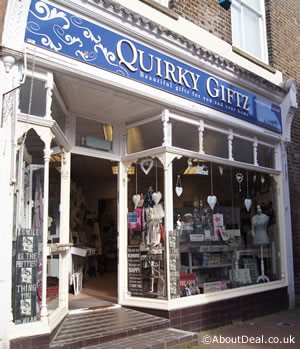 Lovely gift shop in Deal.