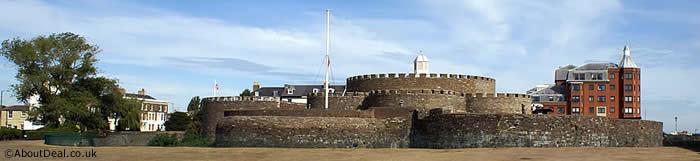 Deal castle in Kent